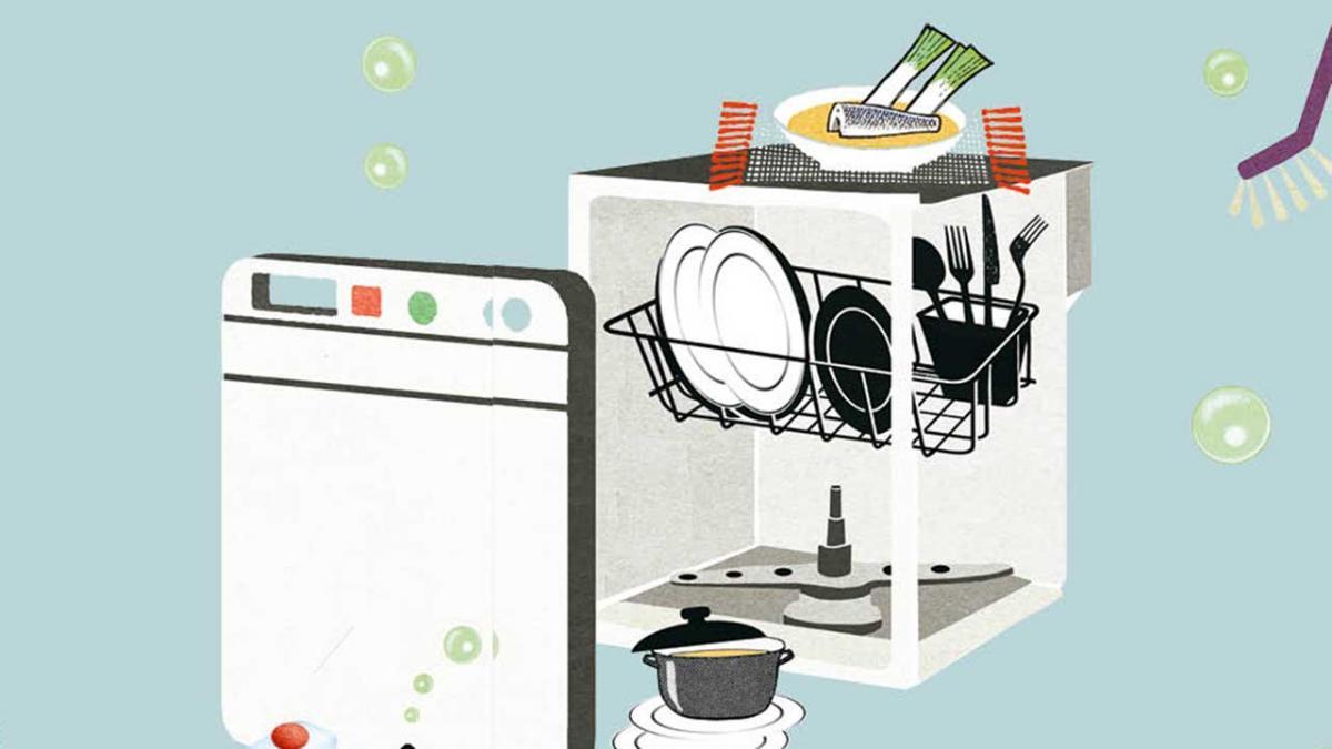 almindelig opvaskemiddel i opvaskemaskine