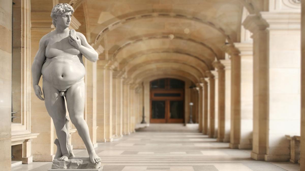 Dejlige deller eller usund overvægt?
