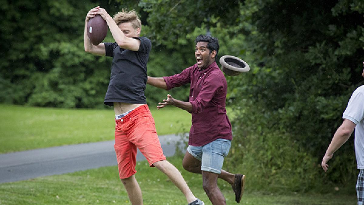 sjove udendørs aktiviteter for voksne
