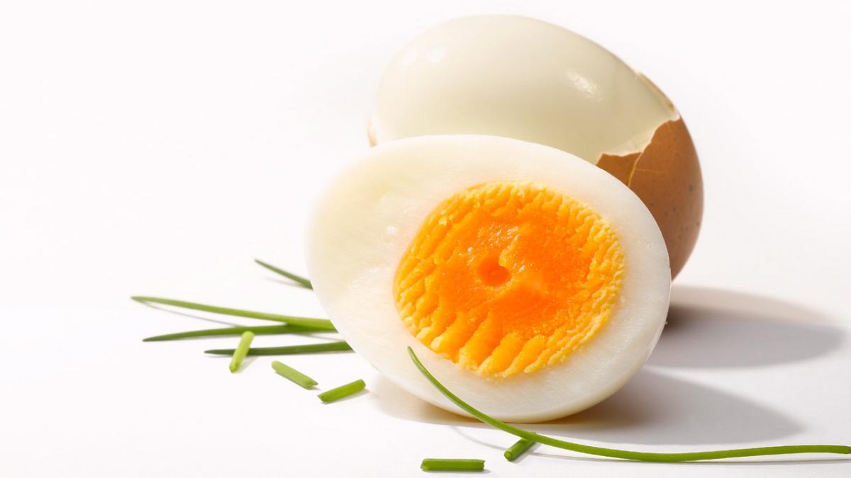 hårdkogt æg tid