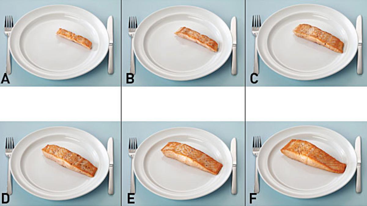 Har du styr på portionsstørrelserne og kalorierne?