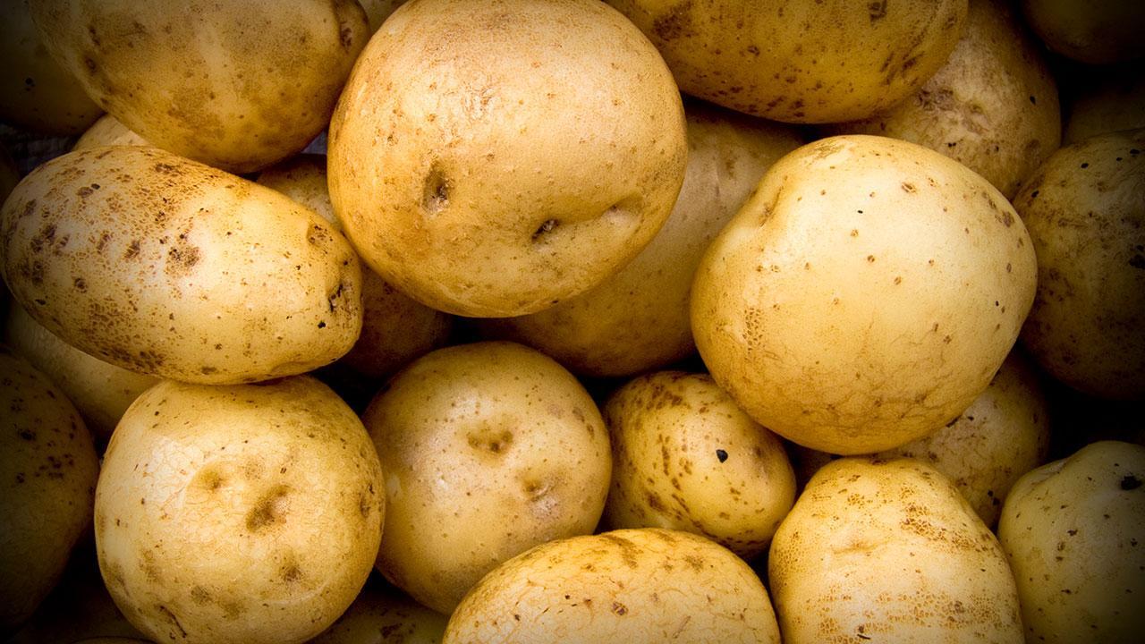 opbevaring af skrællede kartofler