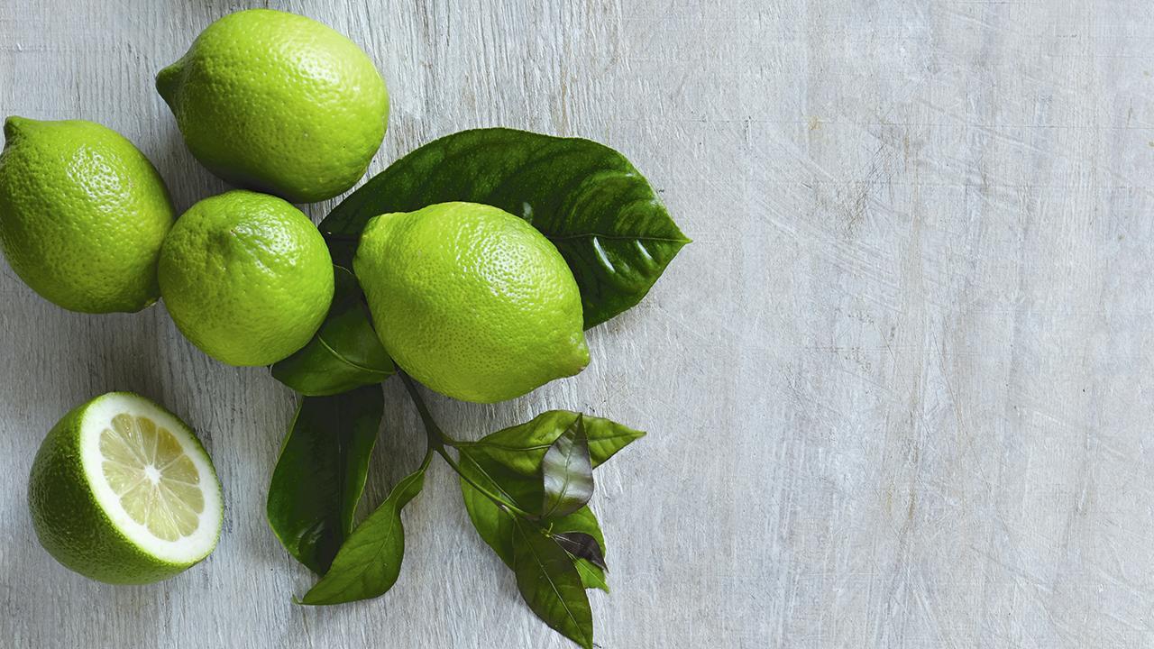 grøn citron