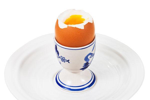 kog et æg blødkogt