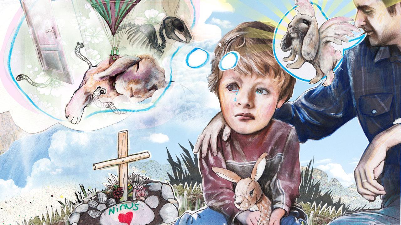 8569ba6e Mange forældre har ikke gjort sig klar på, hvordan man vil forklare døden  for børnene. En god tommelfingerregel er, at man gør det enkelt og konkret.
