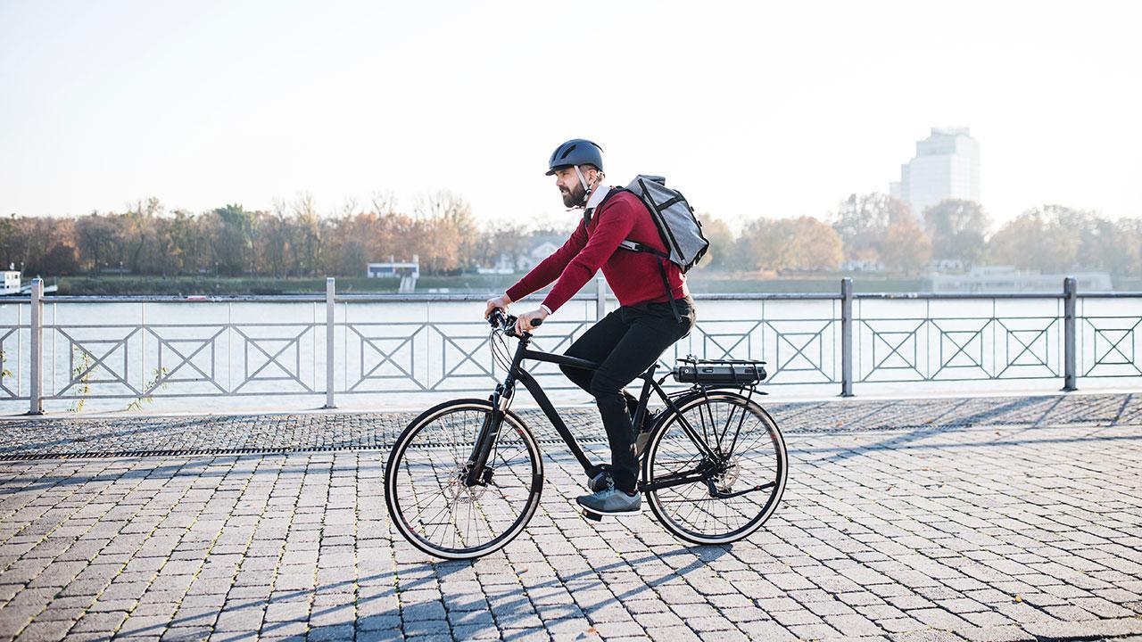 får man motion på en elcykel