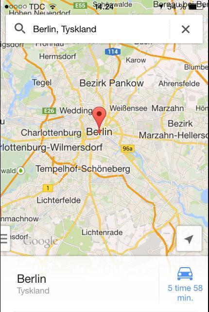 Brug Google Maps Uden Internetforbindelse Samvirke