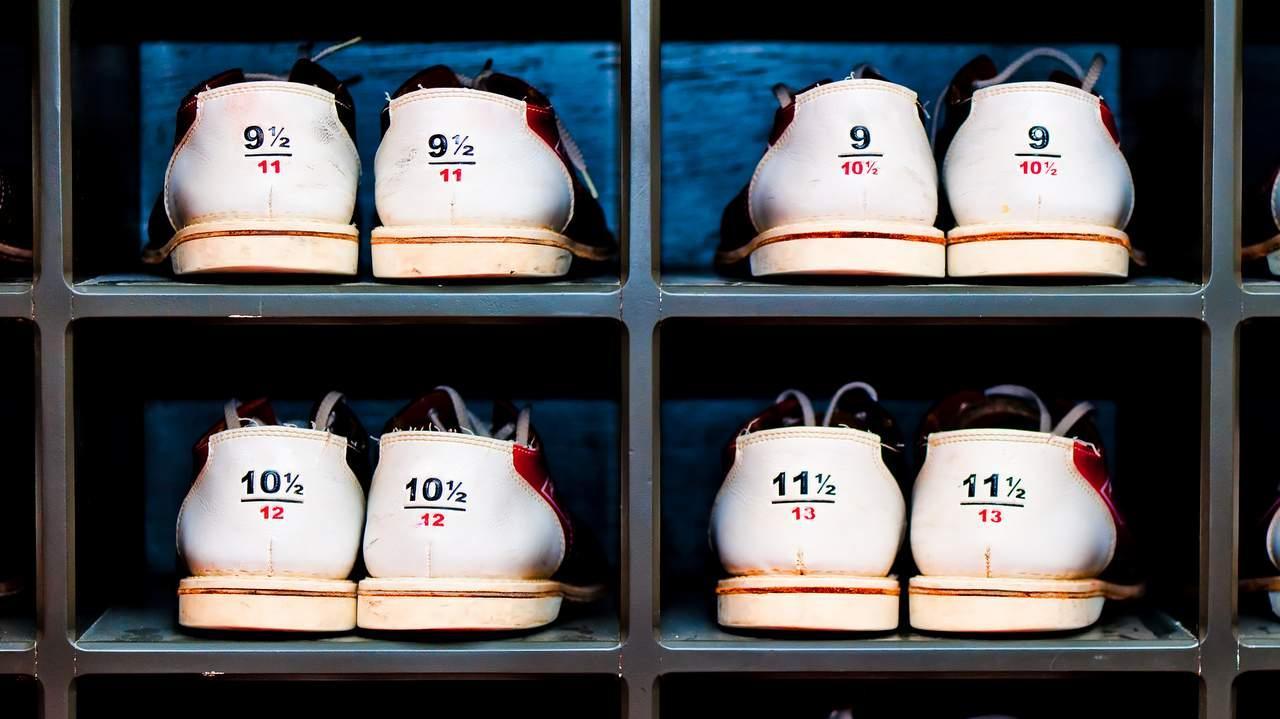 find din skostørrelse