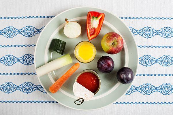 600 gram frugt og grønt om dagen