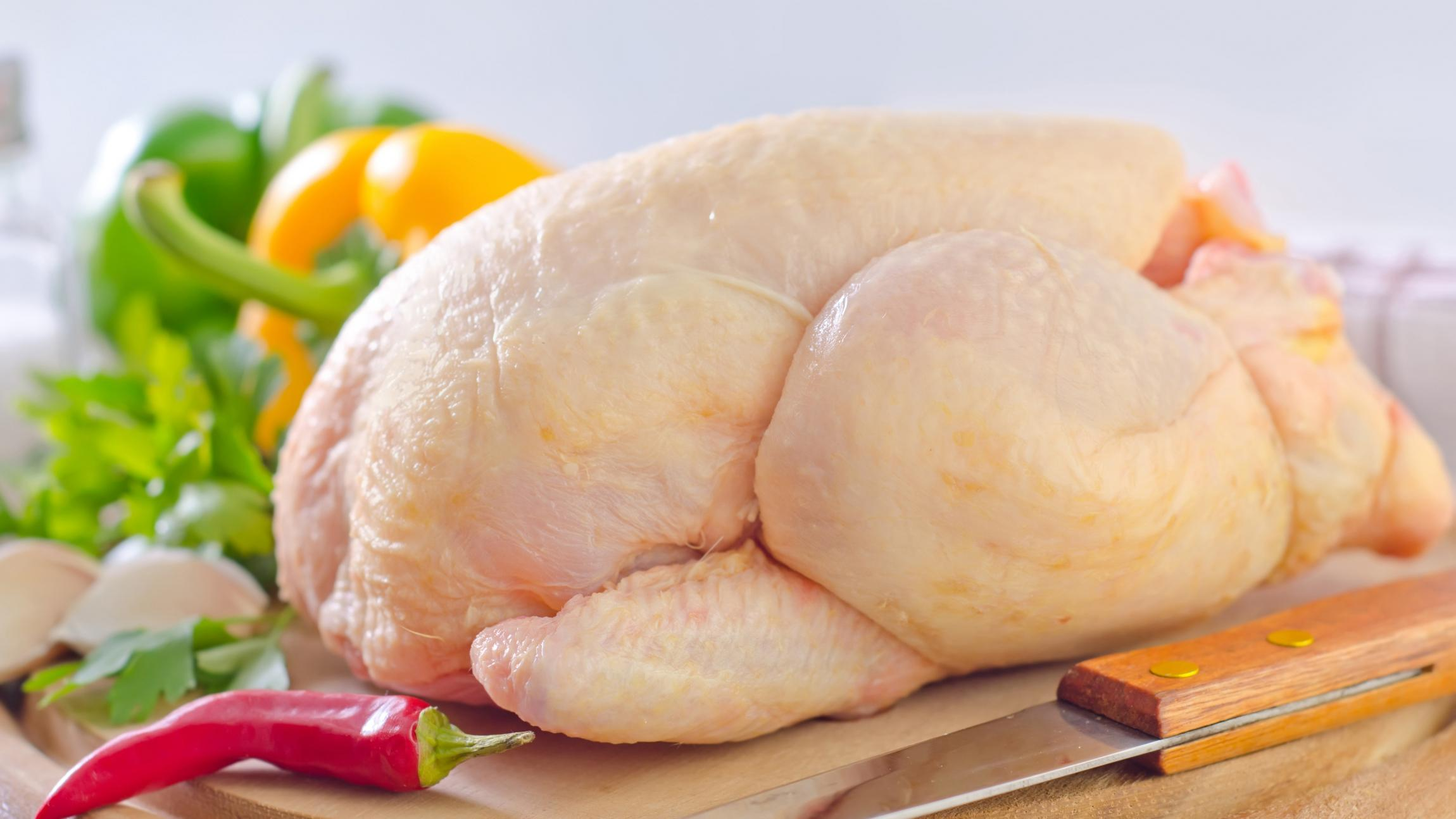 hvad vejer et kyllingebryst