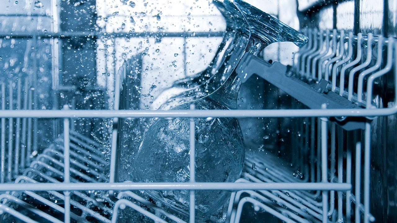 opvaskemaskine kalk på glas
