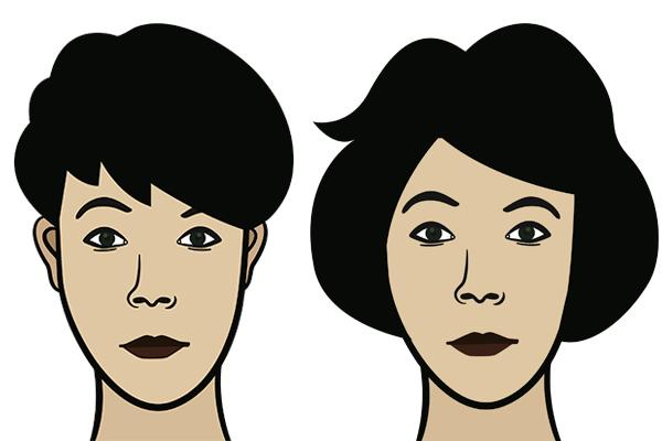 frisure til ovalt ansigt