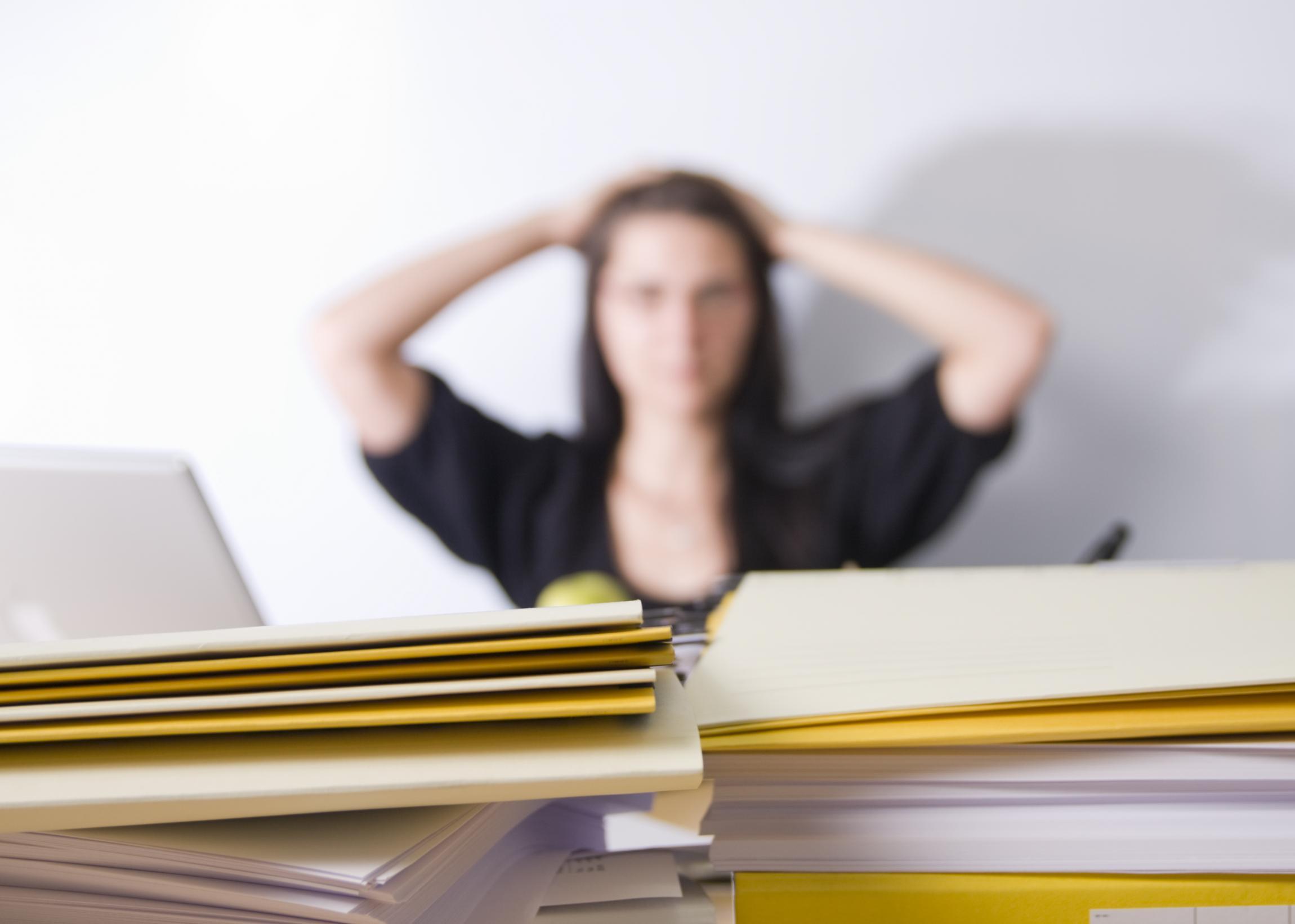 Symptomer På Angst Og Stress