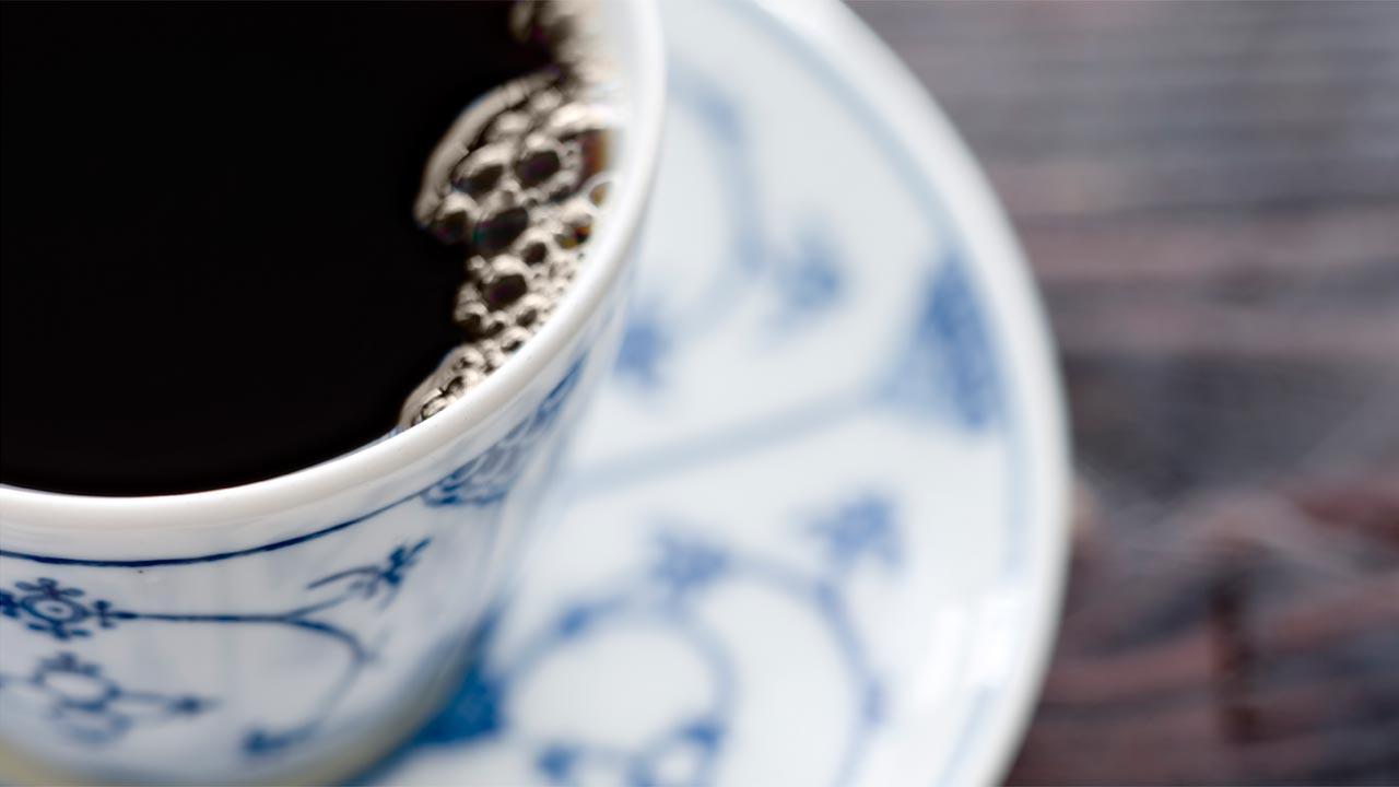 kaffe forbrænding