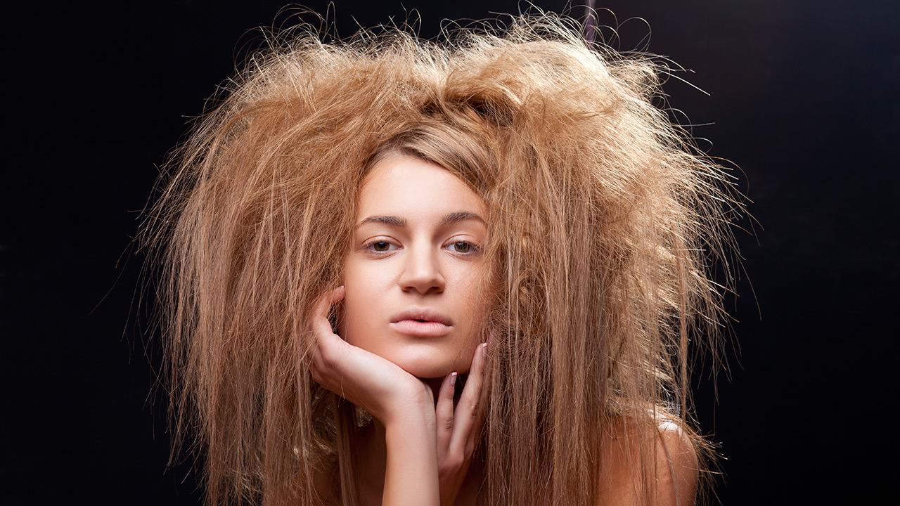 tørt hår vinter